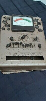 Vintage Triplett 3413 Vacuum Tube Tester Parts Repair