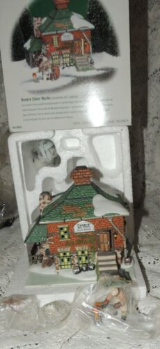 """Dept 56 """"Revere Silver Works"""" #56632 Lighted House New England Village Series"""