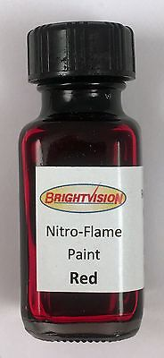 Brightvision RED Nitro-Flame Redline Restoration and Custom Paint - RED