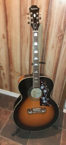 Epiphone EJ 200 Jumbo 6 String Acoustic Guitar