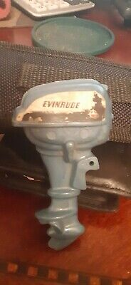 Vintage Evinrude outboard boat motor Advertising pin promo 3in
