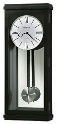 Howard Miller 625-440 (625440) Alvarez Wall Clock  - Black Satin