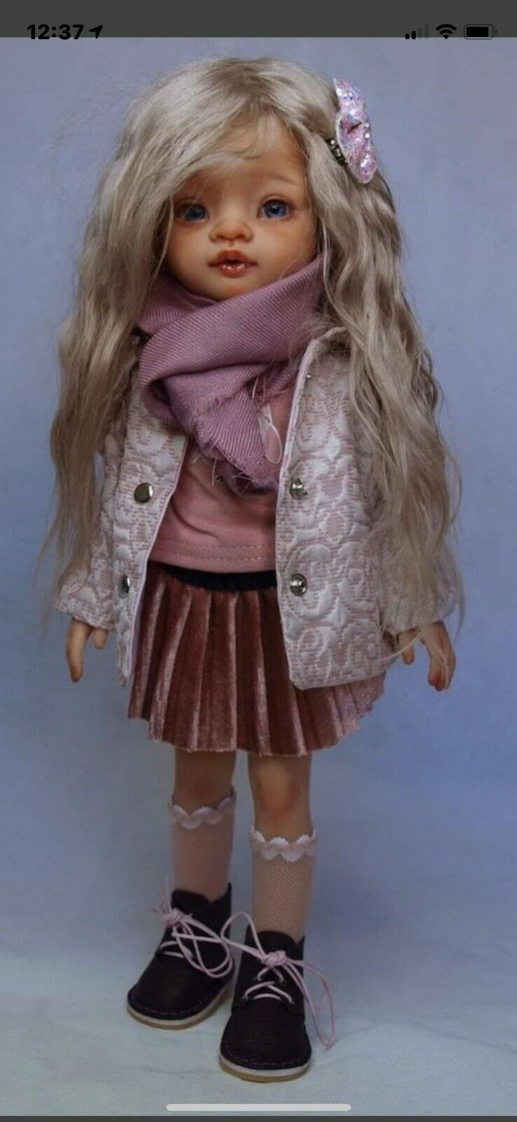 Doll Clothing Set Outfit, Little Darlings, Paola Reina, Handmade Coat  - $19.99