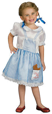Wizard of Oz Little Girls Dorothy Costume Size Toddler 2-4](Dorothy Costume 4t)
