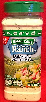 Hidden Valley Ranch Seasoning and Dressing Mix - (1) 16 oz Container - (Ranch Dressing Mix)