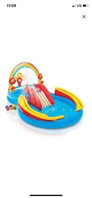 intex pool with slide