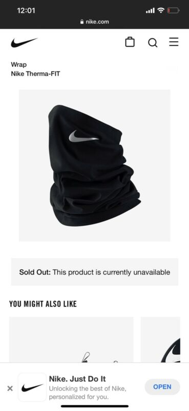 Nike Therma-FIT Wrap MASK NRA45-011 Neck cover
