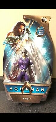 "DC Multiverse MATTEL ORM Ocean Master 6"" Action figure from 2018 Aquaman Movie"