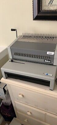 Ibico Seestrasse 346 Binding Machine Plus Combs And Clear Coversbacks