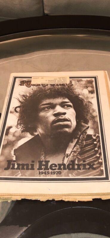 Jimi Hendrix~ 1970 Rolling Stone Magazine 🎸