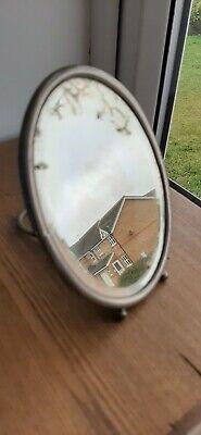 Vintage Bevel Edge Travel Mirror