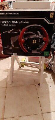 Volante per Xbox one Thrustmaster Ferrari 458 Spider Racing Wheel  segunda mano  Embacar hacia Argentina