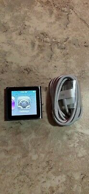 iPod Nano 6th Generation 8gb Graphite