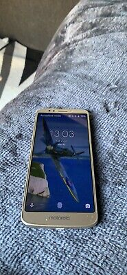 Motorola Moto G6 Play Smart phone 4G VGC Gold