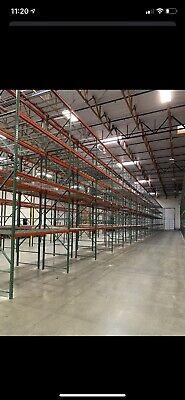 Warehouse Racking Steel Beams Racks Uprights Stoarage Equipmnet