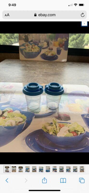 New! Tupperware Midget Salt & Pepper Shakers!