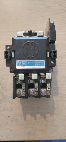 USED ITE A203B NEMA SIZE 0 3 POLE MOTOR STARTER - 120VAC COIL