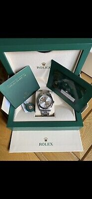 Rolex Oyster Perpetual 41mm Silver Dial 2021 Brand New dated 29/05/2021