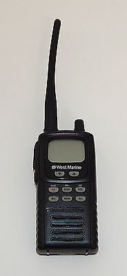 Vhf Portable Marine - West Marine VHF100 VHF Marine Handheld Submersible Portable Radio Transceiver