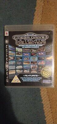 Sega Mega Drive Ultimate Collection - Sony Playstation 3 PS3 - PAL