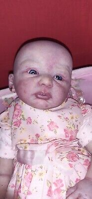 """Cara 20"""" Realistic Reborned Handmade Baby Girl not finished with accessories"""