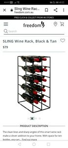 Freedom 'Sling' wine rack