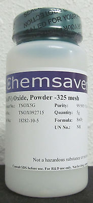 Tiniv Oxide Powder -325 Mesh 99.995 Metals Basis Certified 5g