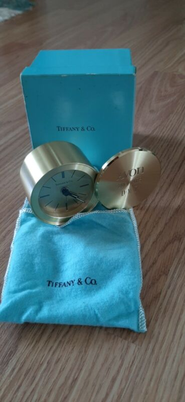 Vintage Tiffany & Co Clock