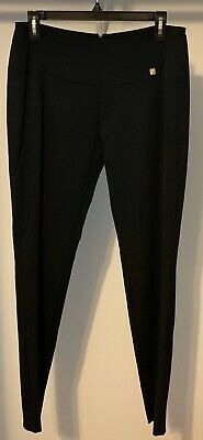 GIANNI VERSACE Collection Black Tapered Leg Zip Ankle  Dress Pants Size 42 6