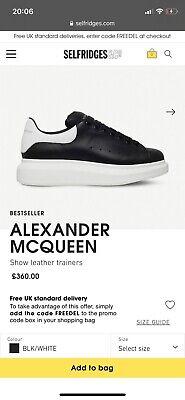 alexander mcqueen trainers
