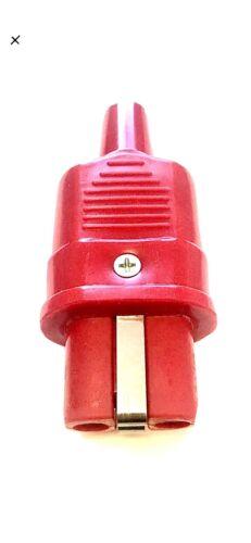 Two Pin Heat Plug, Snooker, Pool Dowsing Iron replacement Plug