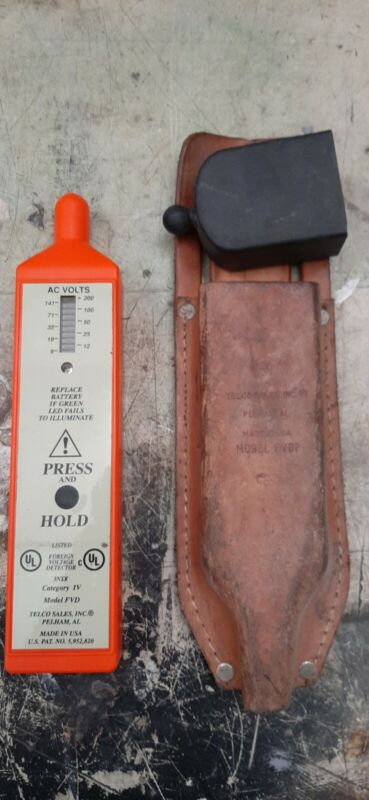 Telco Sales Inc., Foreign Voltage Detector, FVD, 3NXR, Case INCLUDED