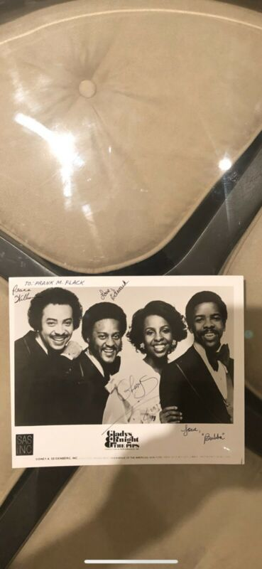 1979 -  Gladys Knight & The PiPS Authentic Autographs , 😮