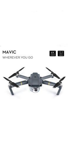 DJI Mavic Pro Folding Drone - 4K Stabilized Camera, GPS WITH  R Control NEW !!!