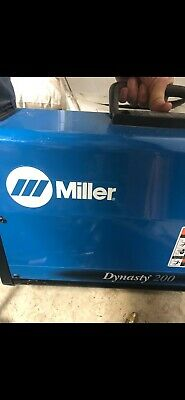 Miller Dynasty 200 Tigstick Welder Single Phase 220 Or Three Phase