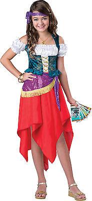 Child Mystical Gypsy Fortune Teller Girls Costume](Gypsy Kid Costume)