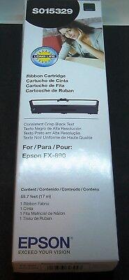 EPSON S015329 BLACK PRINTER RIBBON FITS FX-890  Epson Fx 890 Ribbon