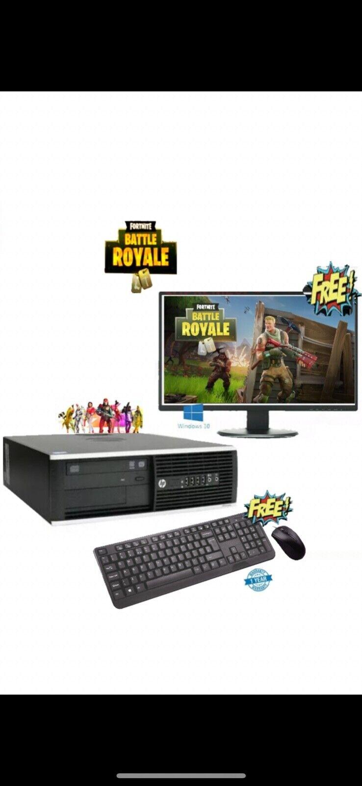 Computer Games - Gaming PC Computer Quad Core i5 4th Gen 16GB Ram 120GB SSD + 1TB Win 10 Pro WiFi