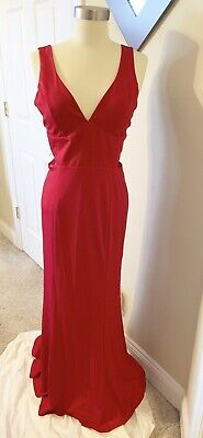 Crystal Doll Womens Cut-Out A-line Dress Red Size 9 (Crystal Doll Juniors Cutout A Line Dress)