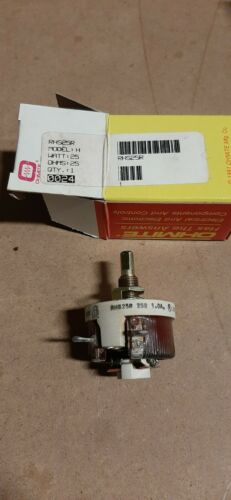 Ohmite RHS-25R Model H Rheostat,25 watt,25 ohms,