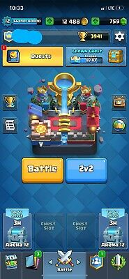 Clash Royale Account High Level 12 Max Troops