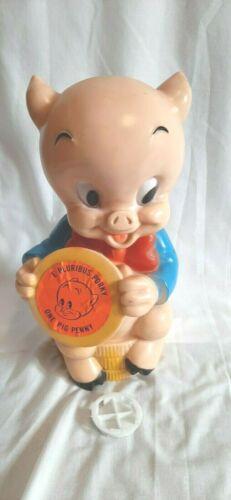 Porky Pig Piggy Bank 1972 Homecraft Prod.