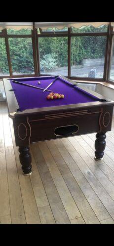 Pool Table 7 x 4 Slate Bed