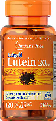 Puritan's Lutigold Lutein 20mg Zeaxanthin 800mcg - 120 Softg