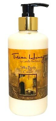 Camille Beckman Silky Body Cream 13 oz -Tuscan Honey - 13 Oz