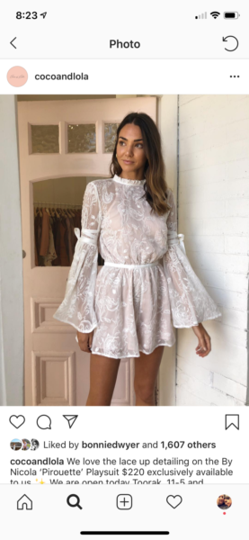 """4d7147d525 By Nicola """"Pirouette Playsuit"""""""