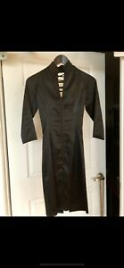 LIKE NEW Black Shkank Open Back Dress