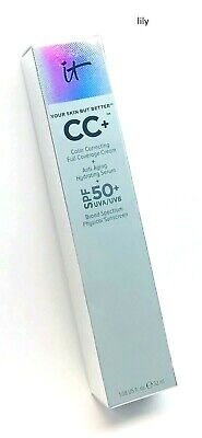 iT Cosmetics Your Skin But Better CC+ CC Full Coverage Cream (PICK SHADE)