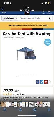 Gazebo Tent Woth Awning