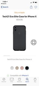Apple iPhone X  10 tough case brand new in box